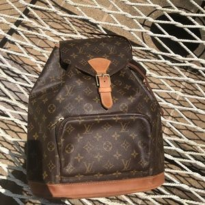 Louis Vuitton backpack GM EXTRA PICTURES